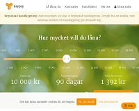 Daypay - Snabblån upp till 20 000 kronor