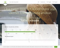 Frogtail - Låna upp till 40 000 kronor utan säkerhet