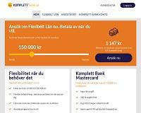 Komplett Bank - Låna upp till 500 000 kronor utan säkerhet