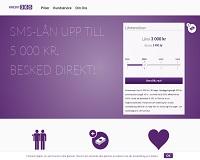 Kredit365 - Snabblån på upp till 5 000 kronor i 30 dagar