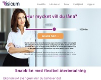 Risicum - Onlinekredit upp till 50 000 kronor