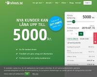 Vivus - Kontokredit upp till 15 000 kronor